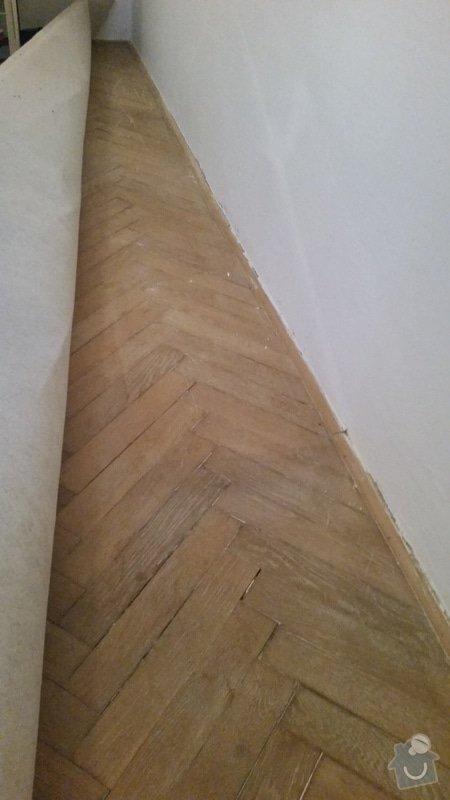 Renovace parket 34m2 + pokladka plovouci podlahy 21m2: 20170205_153345