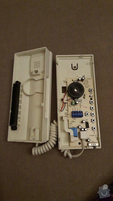 Zapojení domácího telefonu v panelovém bytě: 20170201_055136