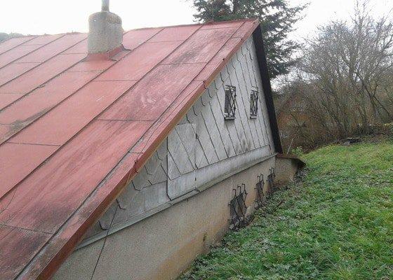 Rekonstrukce střechy s novou nadkrokevní izolací PIR