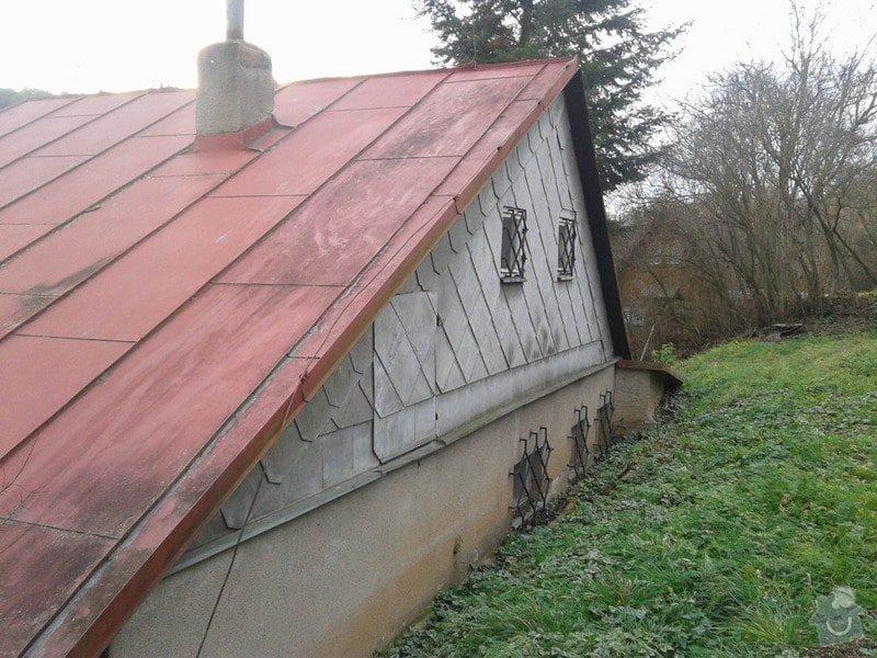 Rekonstrukce střechy s novou nadkrokevní izolací PIR: strecha2