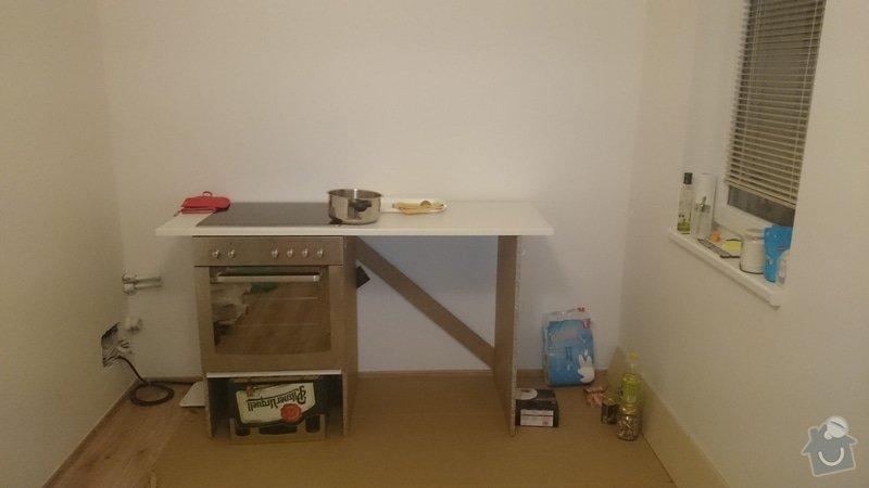 Priprava na kuchyn - elektrina + voda: DSC_0041
