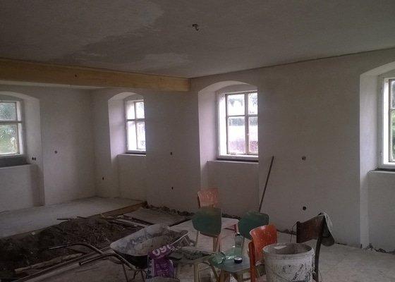 Renovace stropu na chalupě - Bílý Potok pod Smrkem