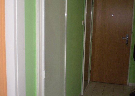 Posuvné dveře k jádru a ke kuchyni