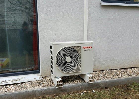 Klimatizace do hlavní obytné místnosti RD