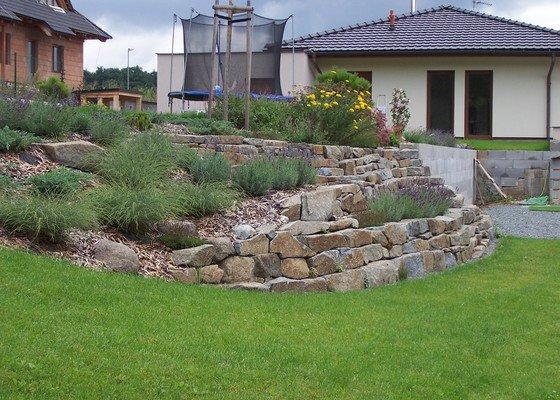 Návrh zahrady v Hostivici