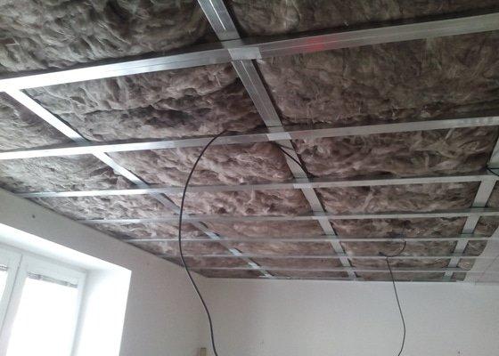 Snížení a zateplení stropů
