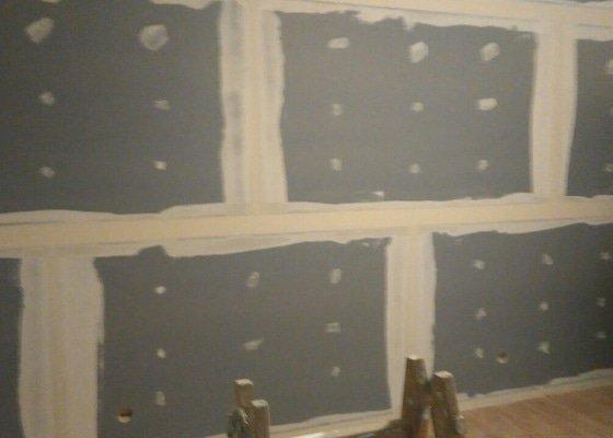 Zvuková izolace dvou stěn v bytě