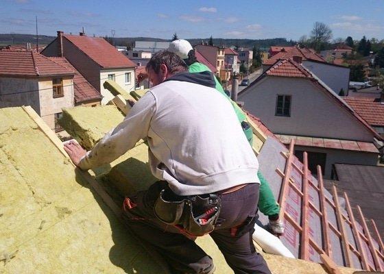 Nadkrokevní izolace střechy