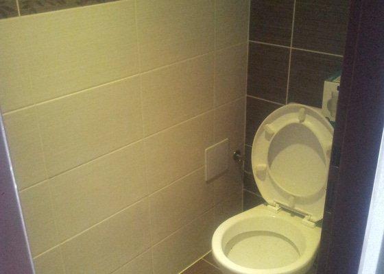 Rekonstrukce koupelny a WC