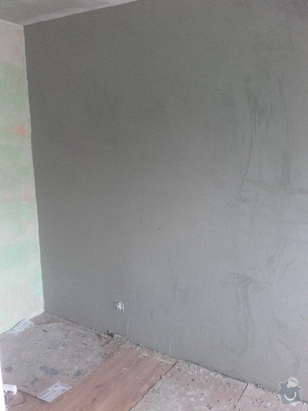 Zednické práce - dozdění okna + štuková omítka: 20170218_094706