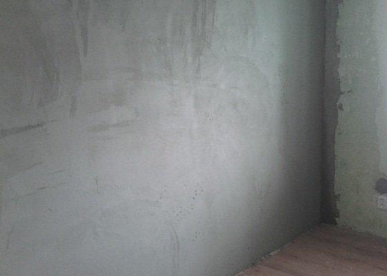 Zednické práce - dozdění okna + štuková omítka