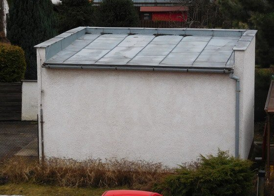 Rekonstrukce střechy vč. izolace