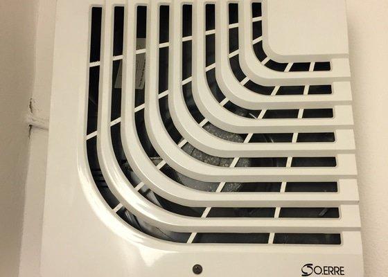 Výměnu ventilátoru na WC