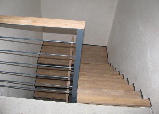 Interiérové schodiště pro RD