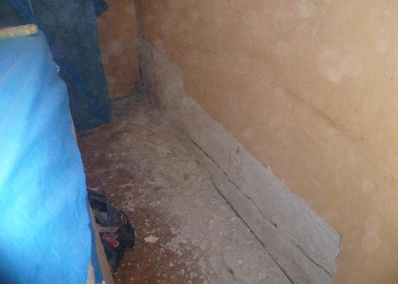 Menší oprava omítek,vymalování bytu 4+1