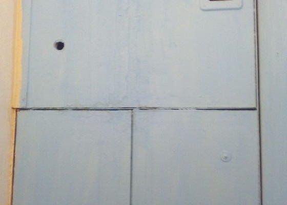 Zhotovení stěny na WC