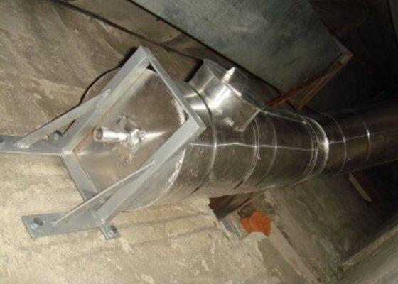 Odvětrání pro plynový kotel