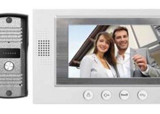 Instalace domácího videotelefonu EMOS, sada H2011 a ovládání el zámku