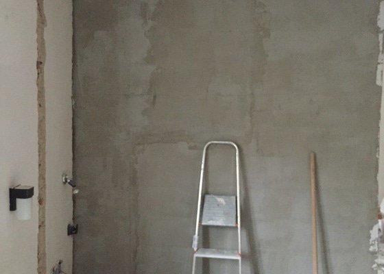 Dokončovací zednické práce po rekonstrukci