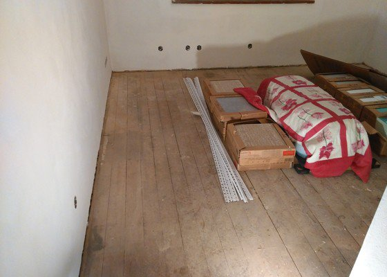 Prkěnná podlaha - 2 místnosti