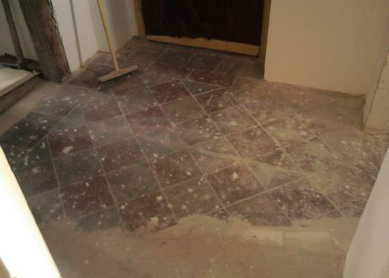 Výměna podlah