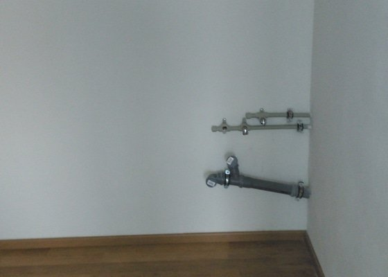 Instalaterske provedeni pripravy na instalaci kuchyne