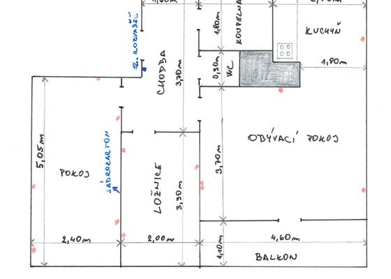 Elektroinstalace v panelovém bytě