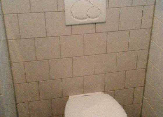 Vymena wc oprava sprchoveho koutu