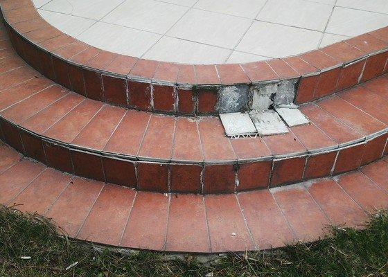 Oprava terasy před domem