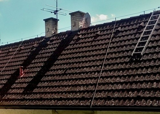 Čištění a mytí střechy