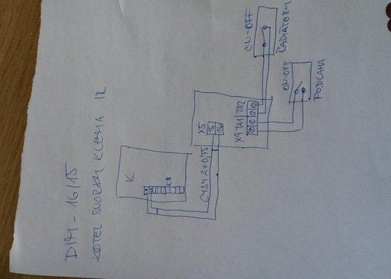 Elektroinstalace - prostorovy termostat