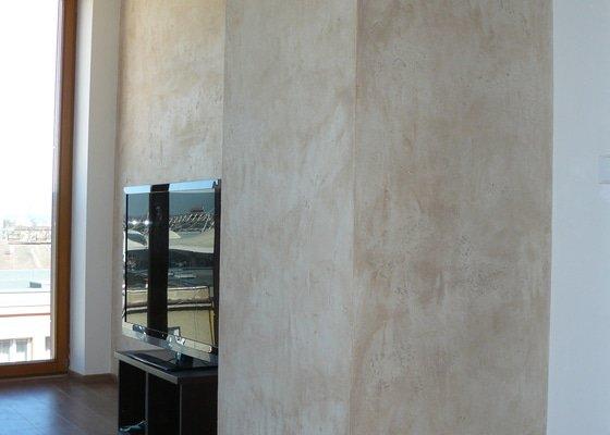 Dekorativní stěrka travertino