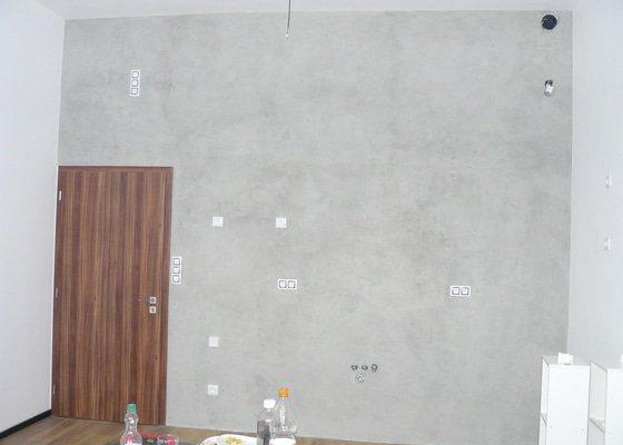 Imitace betonu