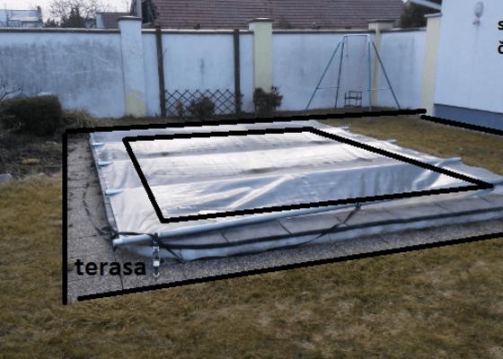 Elektro/zásuvka na terasu + rozvodná skříň + elektřina do zahradního domku