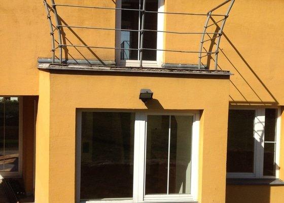Rekonstrukce dlažby na terase
