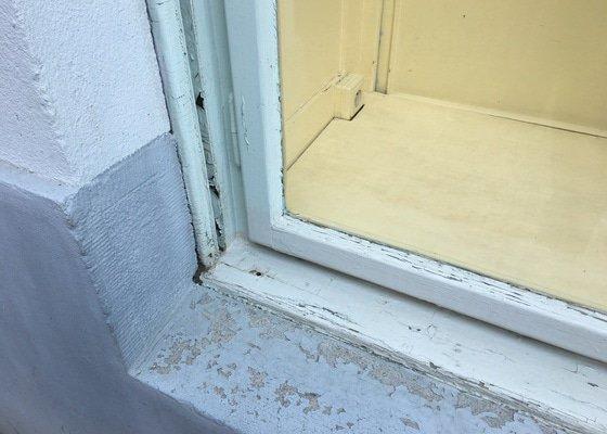 Renovace špaletového dvoj okna