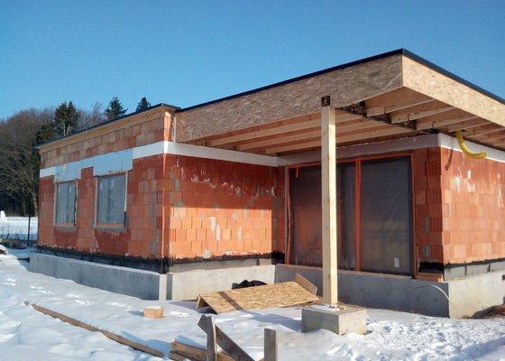 Provětrávaná plochá střecha