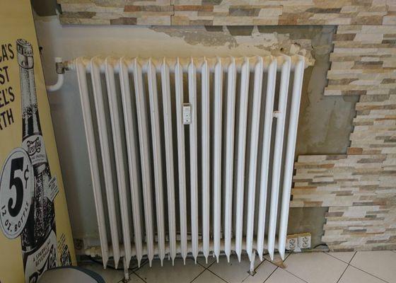 Odsraneni radiatoru topeni