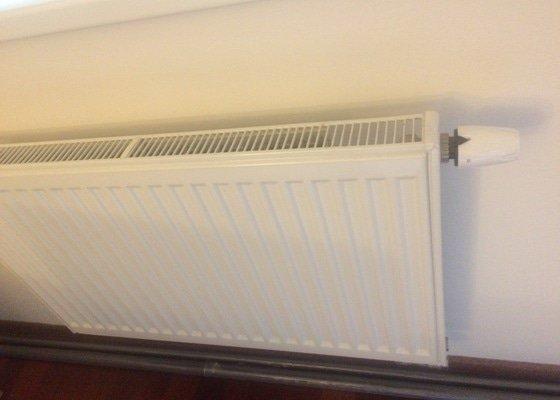 Instalace regulacniho ventilu na topeni (neni centralni)