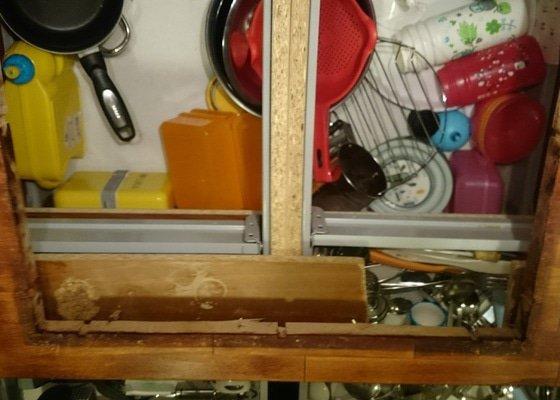 Úprava kuchyňské linky pro varnou desku
