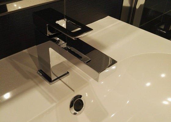 Rekonstrukce koupelny (jádro) byt 3+1