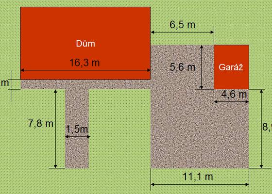 Pokládka zámkové dlažby včetně přípravy podkladu, 166 m2