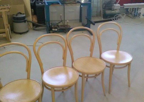 Renovace 4 židlí Ton