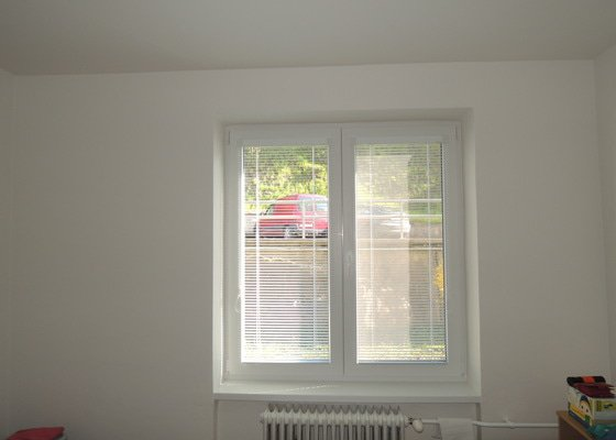 Malířské práce (3+1 byt 60 metrů čtverečních podlaha)
