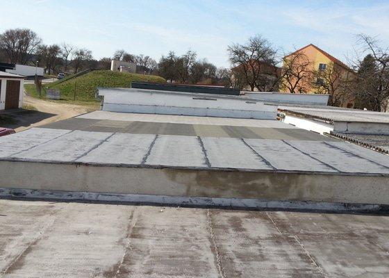 Střecha garáže