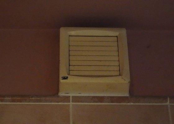 Oprava světla, výměna větráků v koupelně a na WC