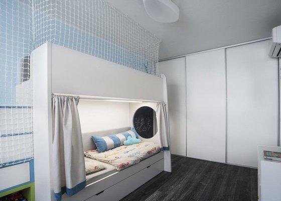 Návrh a realizace interiéru bytu 4+kk