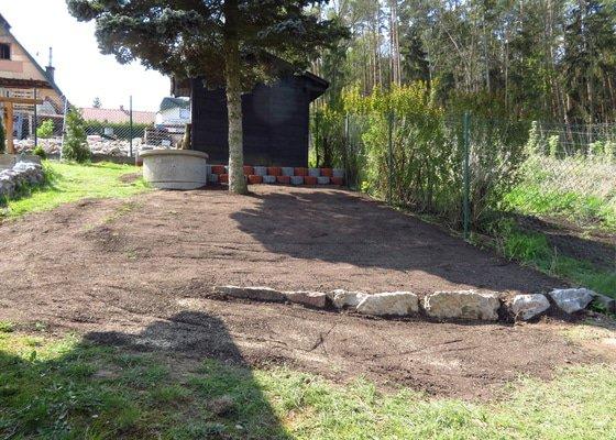 Úprava části zahrady