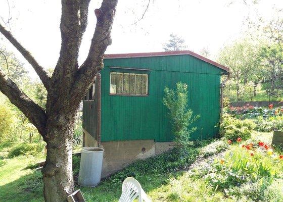 Rekonstrukce asfaltové střechy - zahradní chata