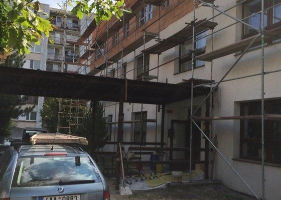Elektroinstalace nástavby školy v Berouně
